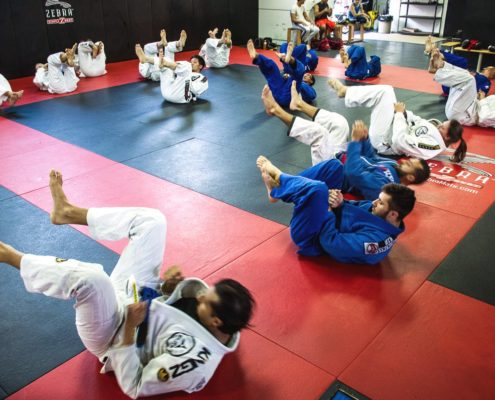 classes at core bjj in the gi