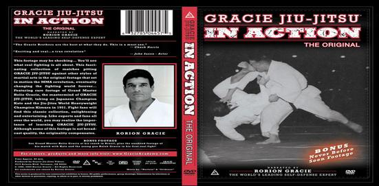 gracie in action dvd cover
