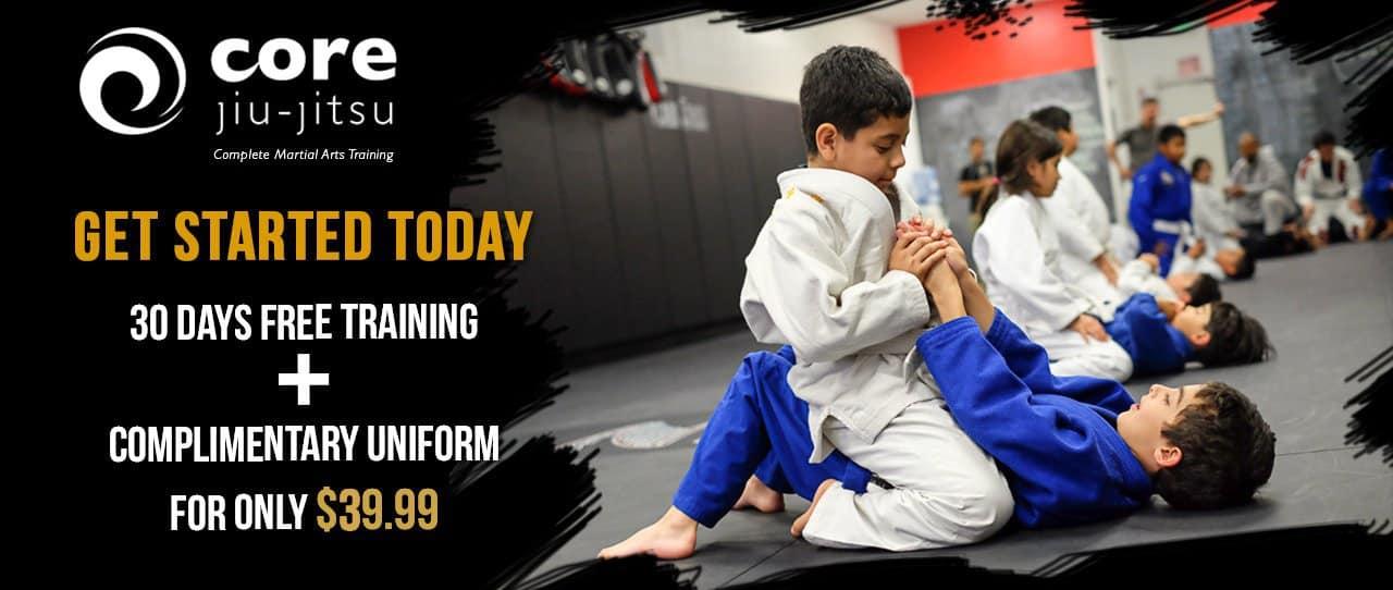 Core Jiu-Jitsu Kids | Mississauga martial arts | Ages 4-12